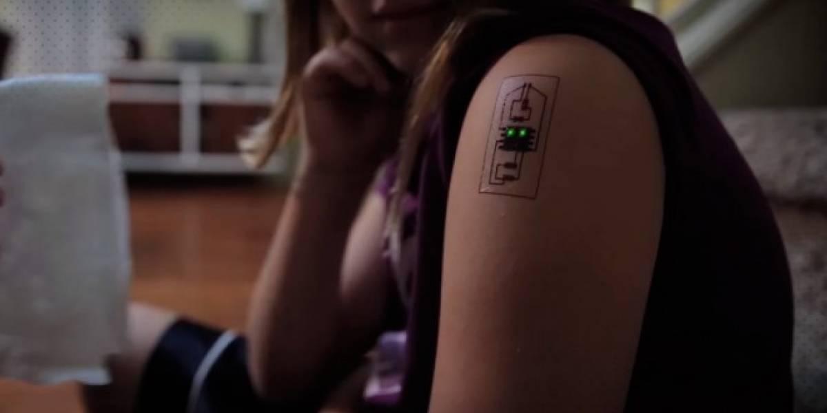 Estos tatuajes biométricos cambian de color según tu estado de salud