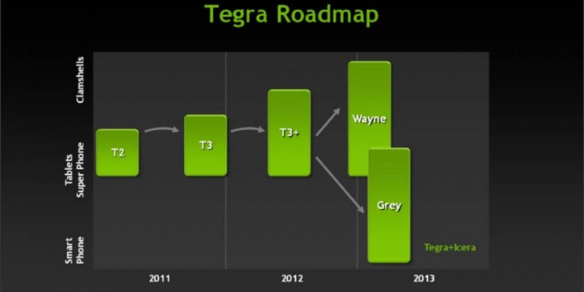 NVIDIA revelará algunos detalles de sus SoC Tegra Wayne y Grey en el CES 2013