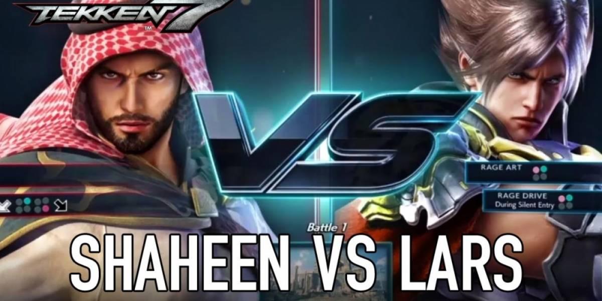 Tekken 7 nos muestra un combate entre Shaheen y Lars