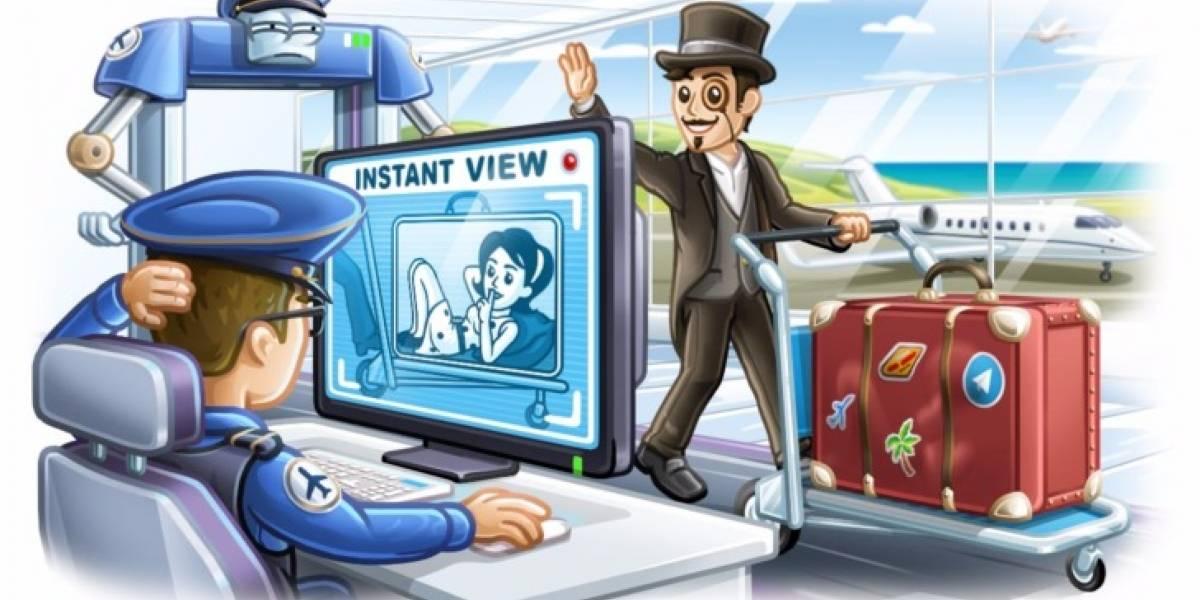 Llegan los mensajes en video y más novedades a Telegram