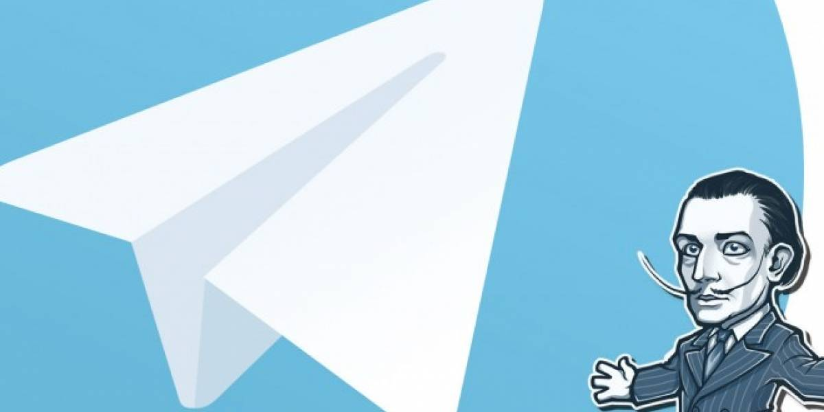 Telegram se actualiza en Android e iOS con stickers destacados