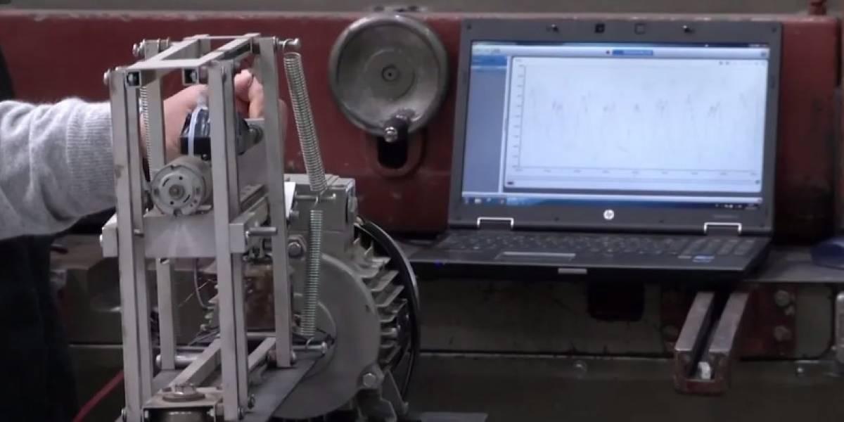 Esta máquina carga el celular con temblores y obviamente fue inventada en Chile