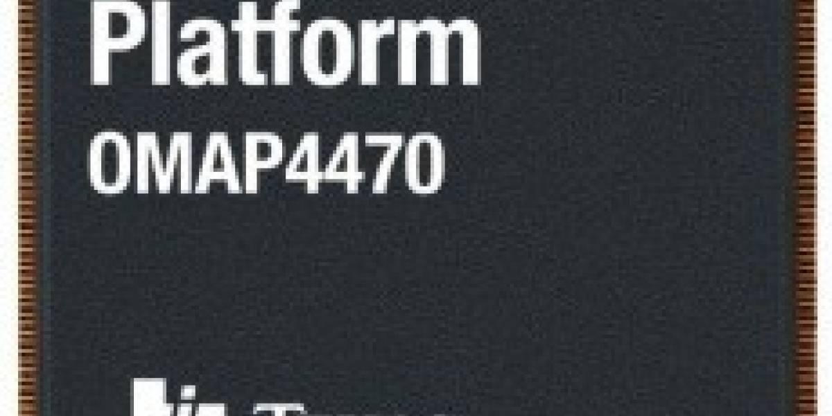 Texas Instruments dice que OMAP 4 mejorado llega en nuestra primavera