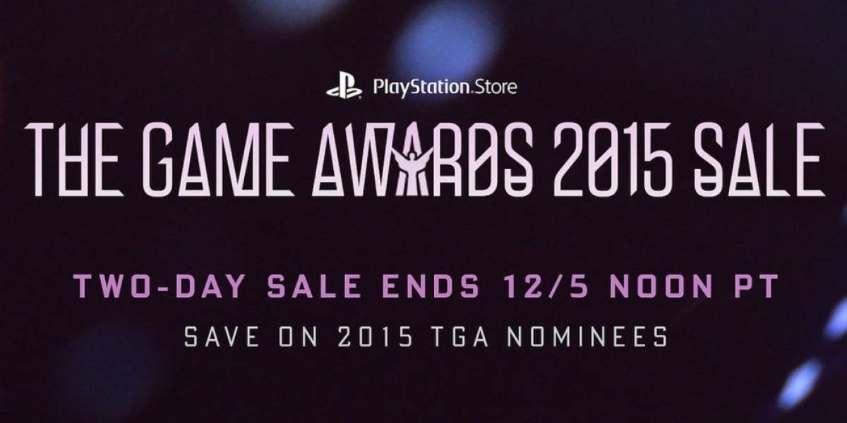 PlayStation Store tiene venta especial de The Game Awards 2015