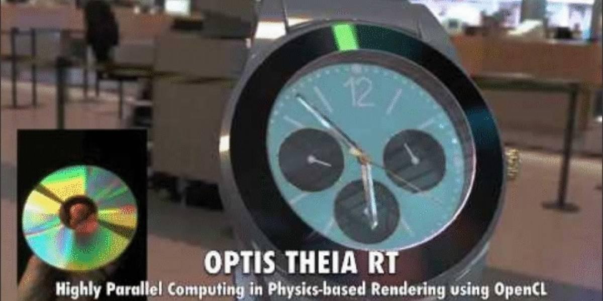 OPTIS realiza una demostración de THEIA-RT acelerado por OpenCL