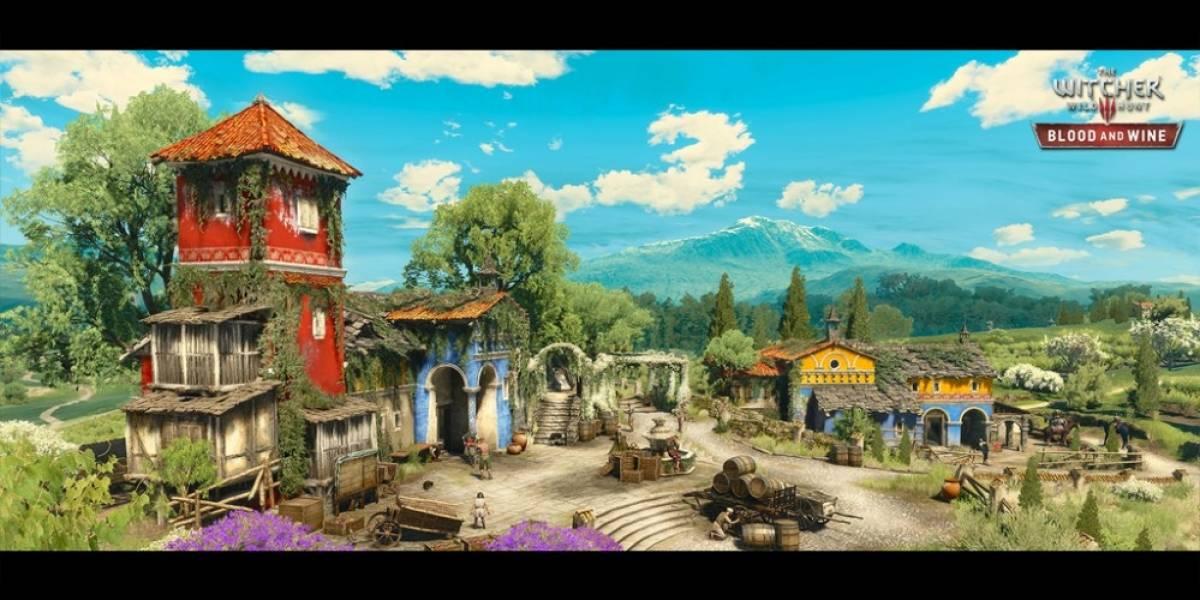 Filtran posible fecha de la expansión Blood and Wine de The Witcher 3