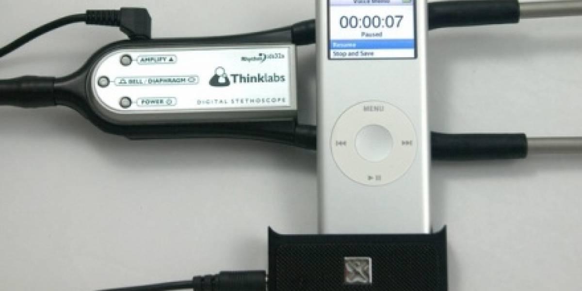 iDoctor: Estetoscopio digital para el iPod
