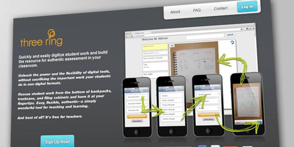 """Three Ring: Una aplicación con la que tu profesor te tendrá """"controlado"""""""