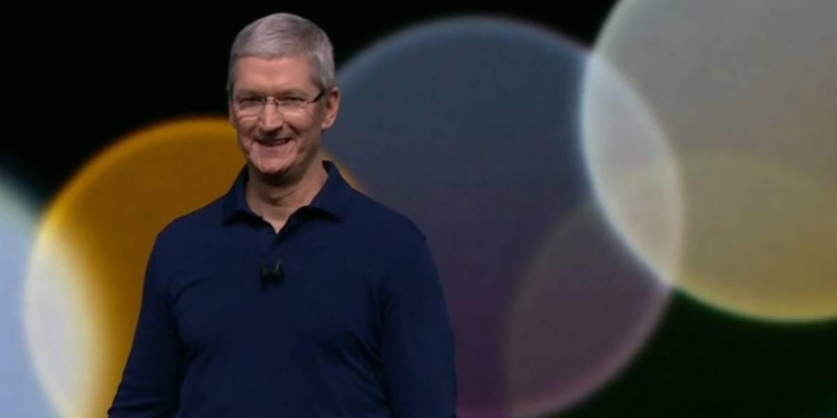 Apple presume cifras de sus logros en presentación del iPhone 7