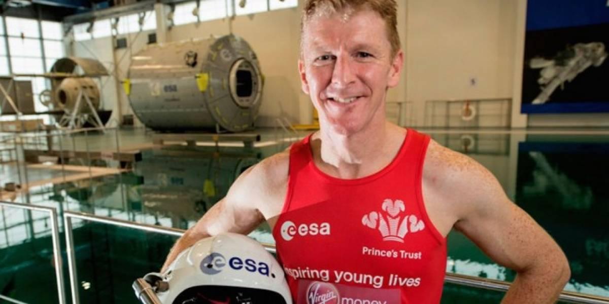 Astronauta completa maratón de Londres desde el espacio y hace historia