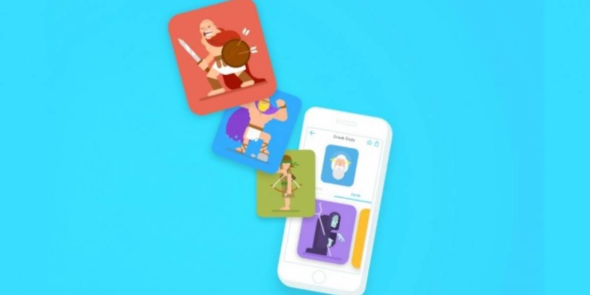 Duolingo lanza Tinycards, una aplicación de aprendizaje general