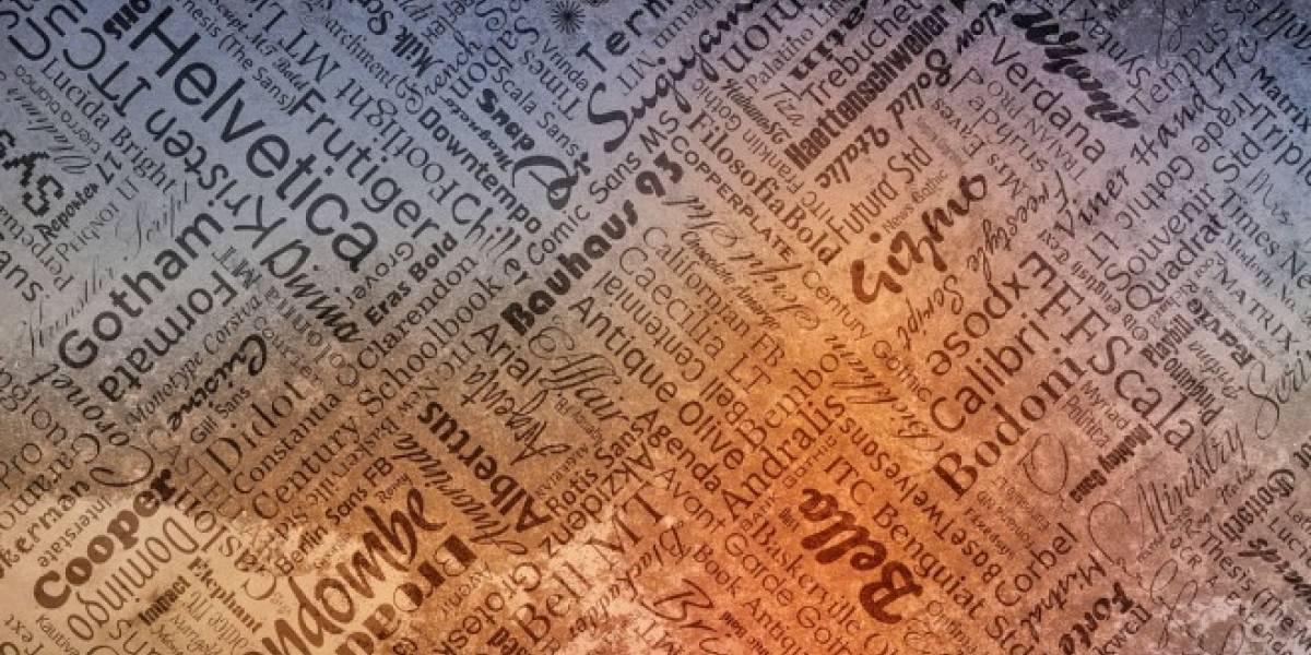 Red neuronal artificial puede diseñar nuevas tipografías