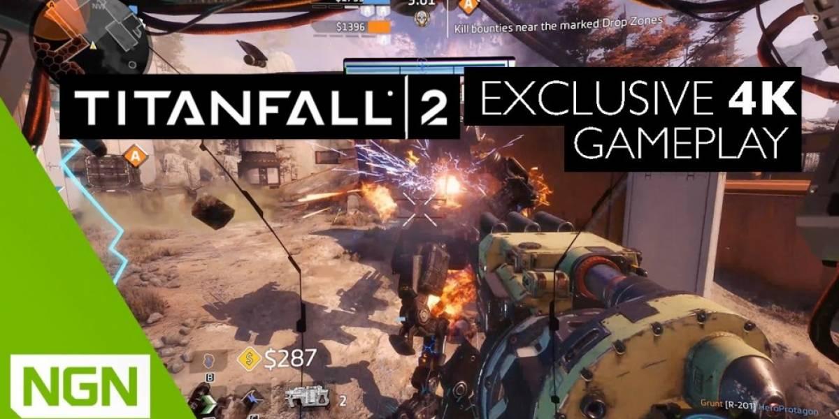 Muestran video de Titanfall 2 corriendo a 4K y 60fps