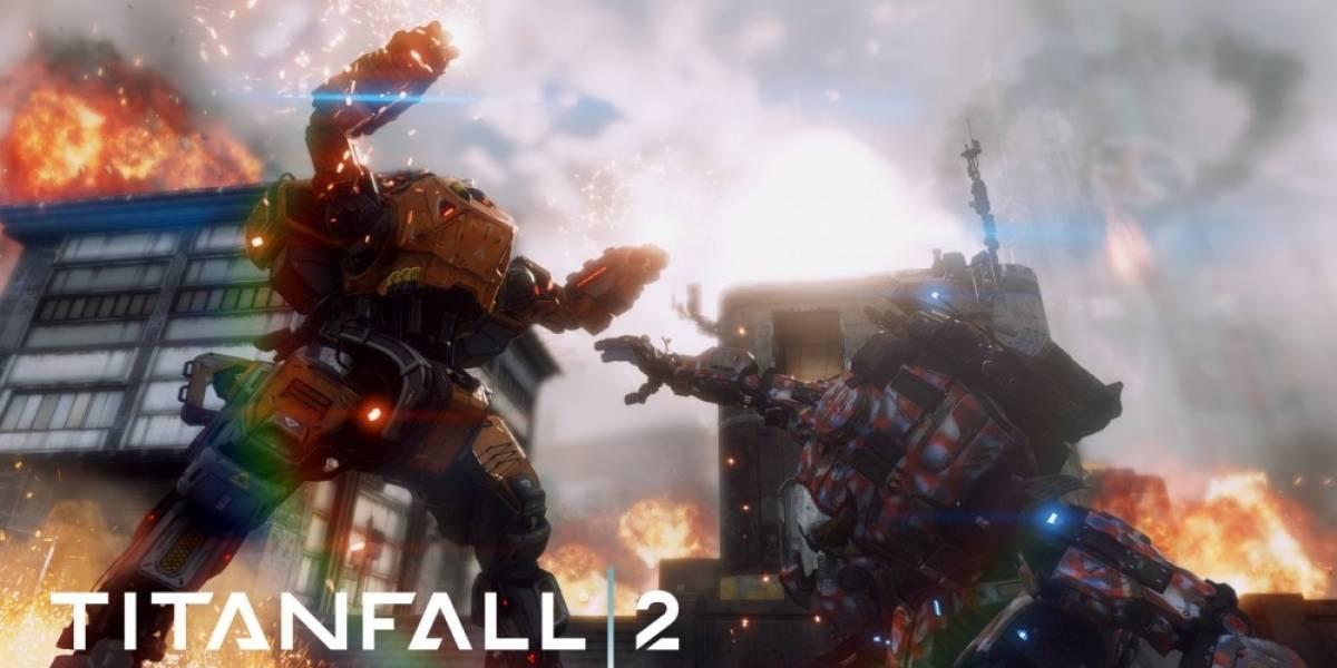 Esta semana podrán probar gratis el multijugador de Titanfall 2