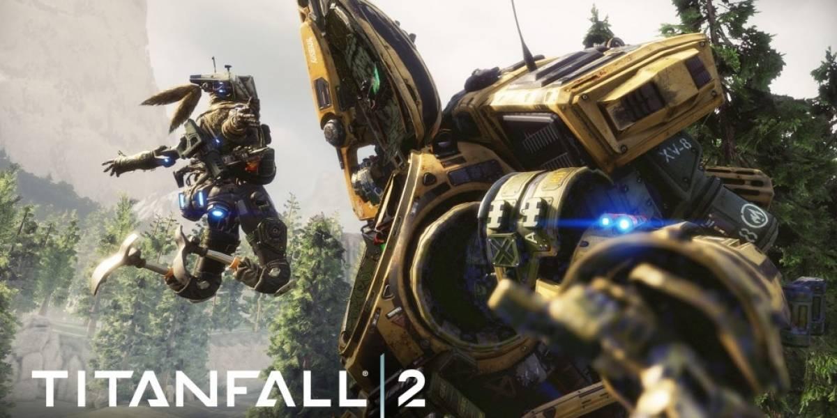 Anuncian fechas para la beta de Titanfall 2