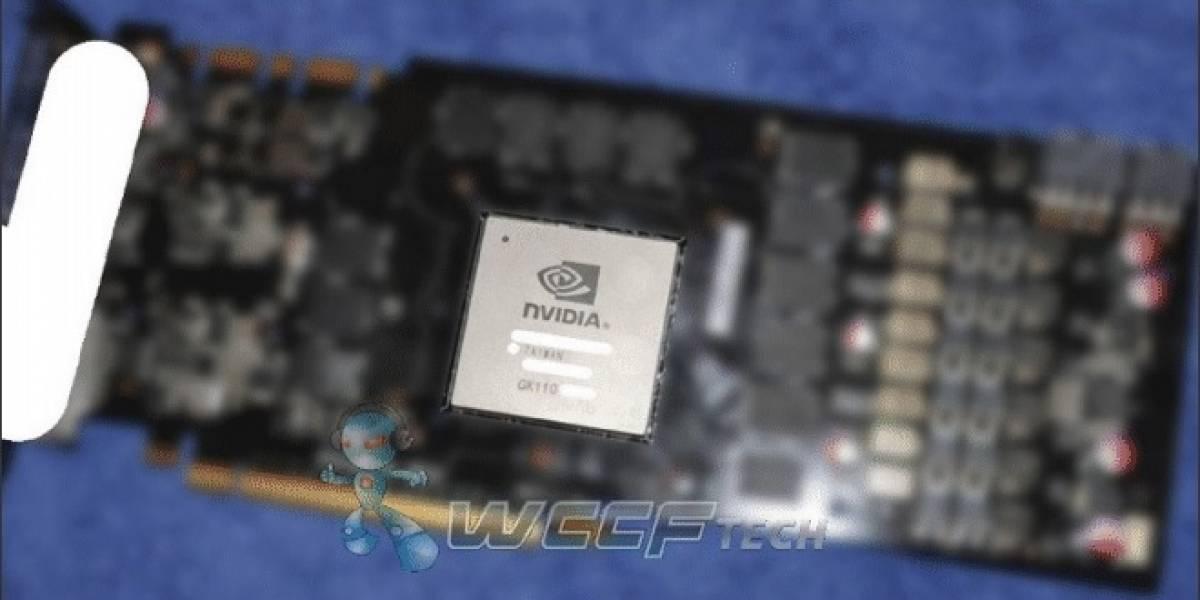 ¿Imagen del PCB de la tarjeta de video NVIDIA GeForce GTX Titan?