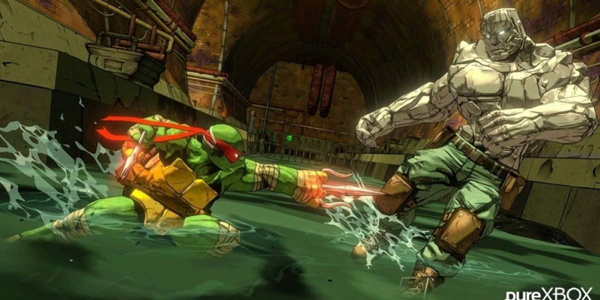 11 minutos del nuevo juego de las tortugas ninja