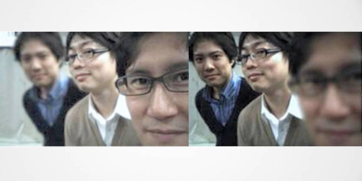 Toshiba trabaja en una cámara para smartphones que permite cambiar el foco de la foto después de tomarla