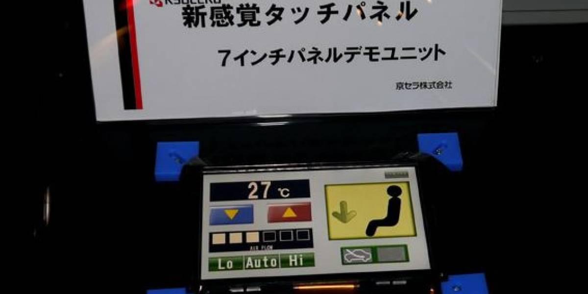 Nueva tecnología de Kyocera promete una pantalla táctil capaz de simular 'clicks'