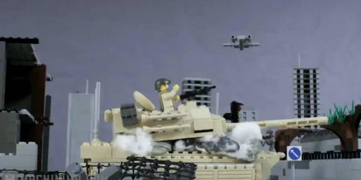 Modern Warfare III en versión LEGO