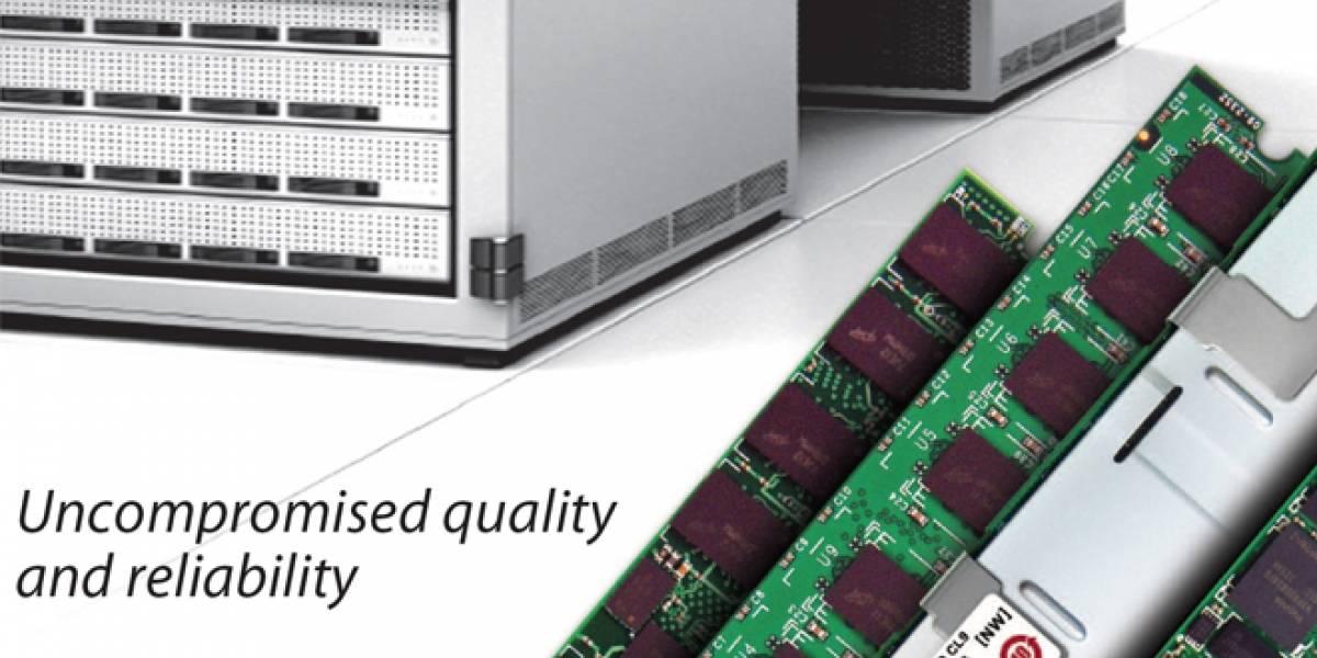 Transcend presenta módulo de 32GB de memoria RAM