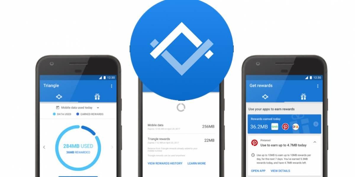 Google lanza Triangle, para medir el consumo de datos móviles