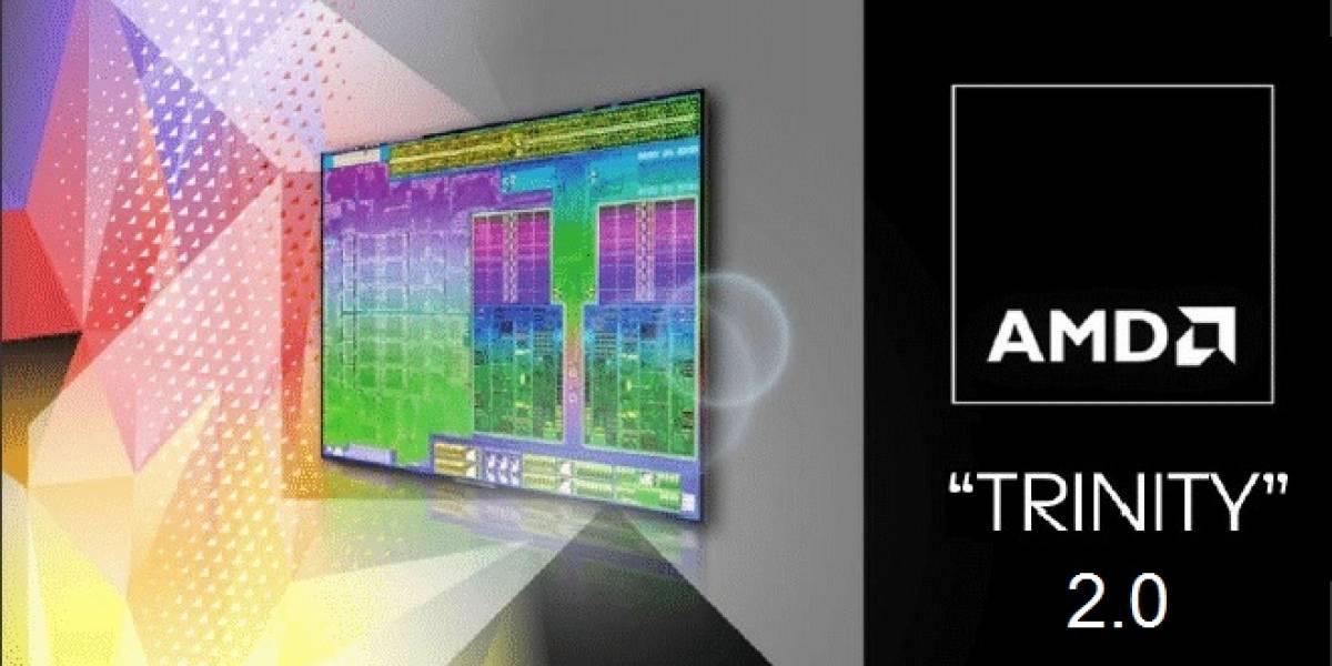 AMD planea lanzar Trinity 2.0 durante la primera mitad del 2013