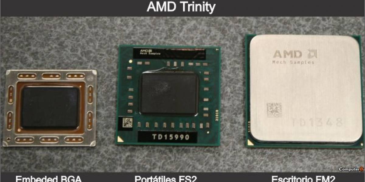 CES 2012: AMD Trinity: CPU 25% y GPU 50% superior a Llano