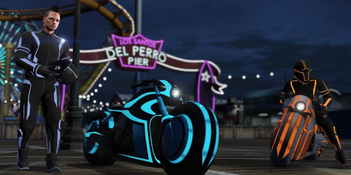 GTA Online agrega motos como las de Tron