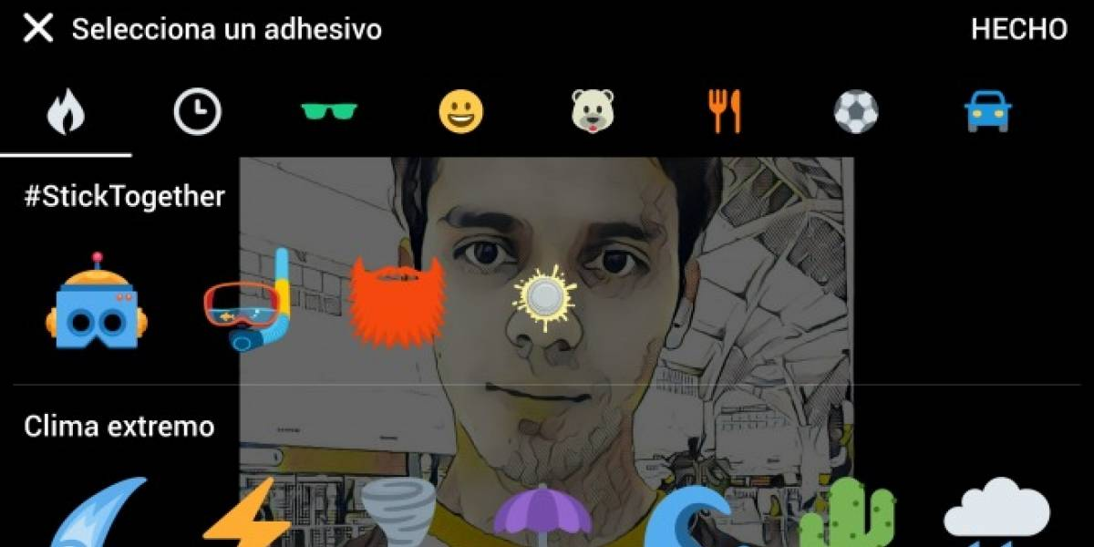 Twitter añadirá stickers para que personalices tus fotografías