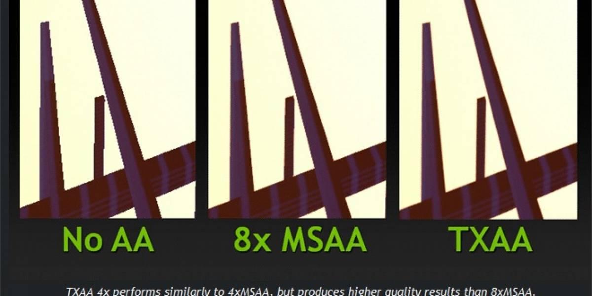 NVIDIA por fin habilita TXAA con sus controladores GeForce 304.79 Beta