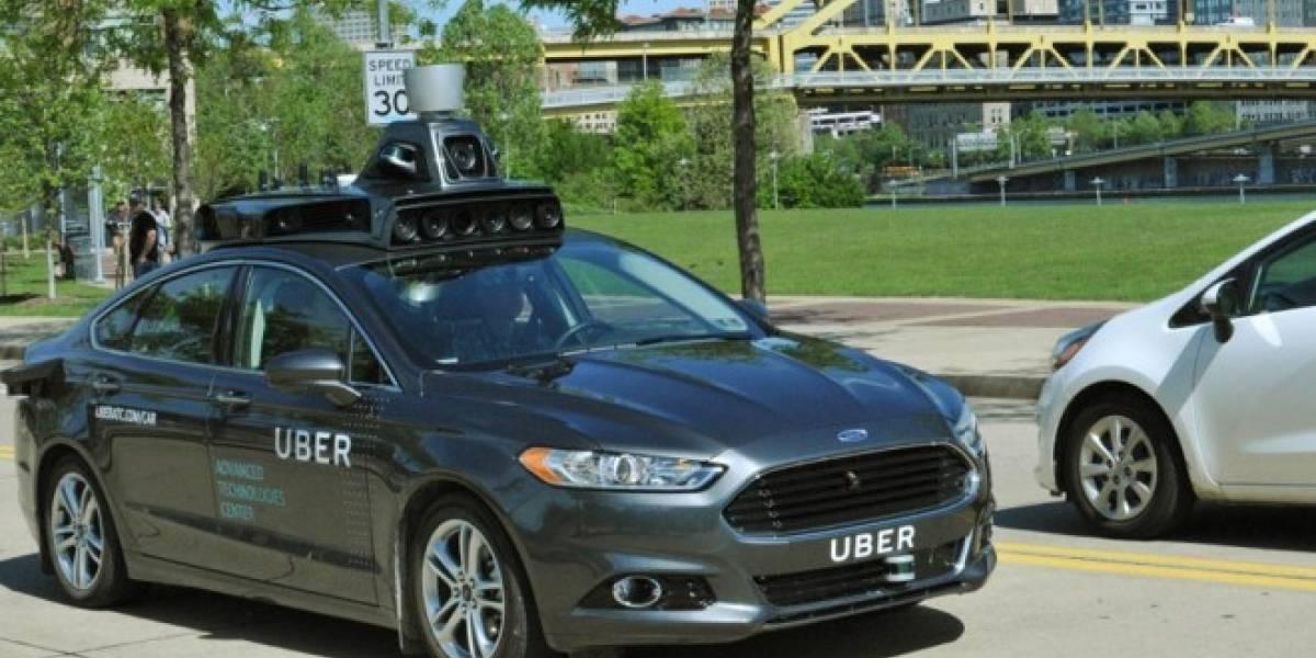 Así lucen los coches autónomos de Uber