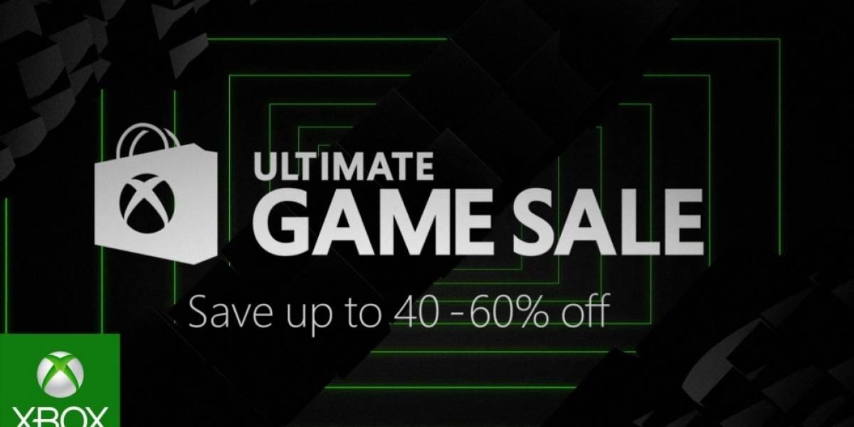 La próxima semana se llevará a cabo la Ultimate Game Sale de Xbox