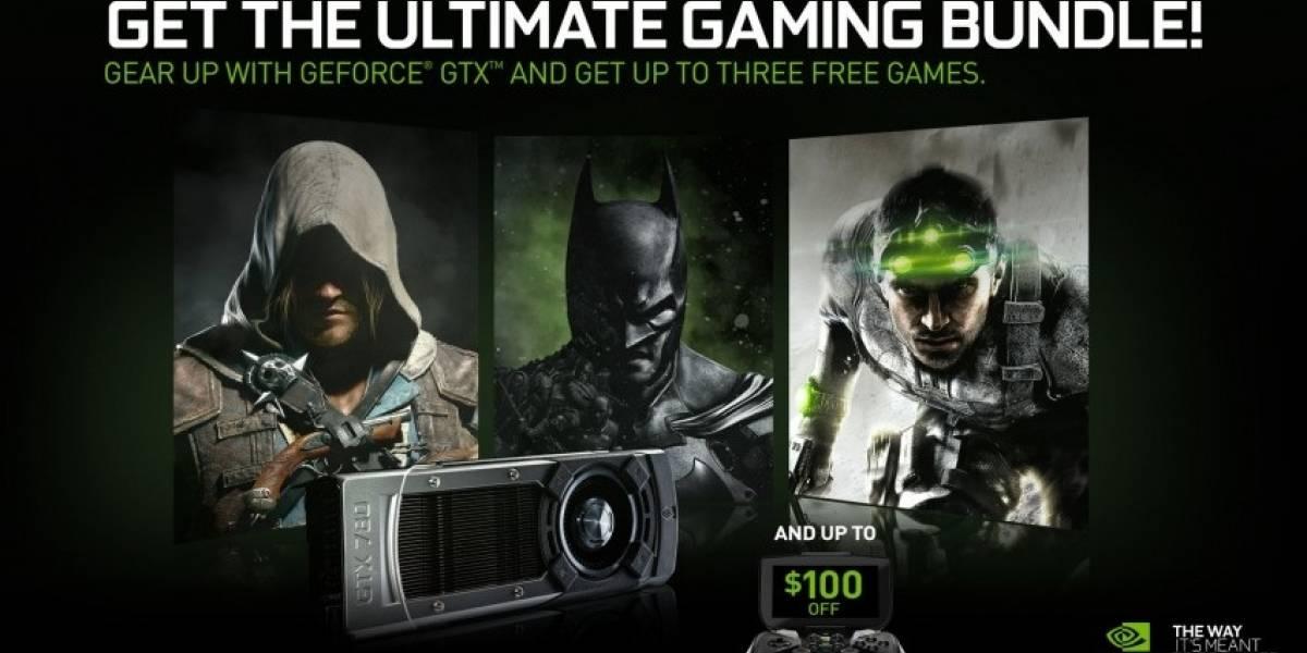 NVIDIA anuncia su promoción Ultimate Gaming Bundle
