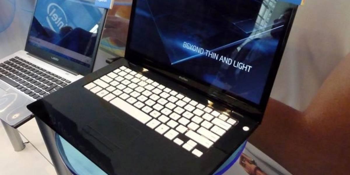 IDF 2011: Intel muestra Ultrabooks basadas en Ivy Bridge