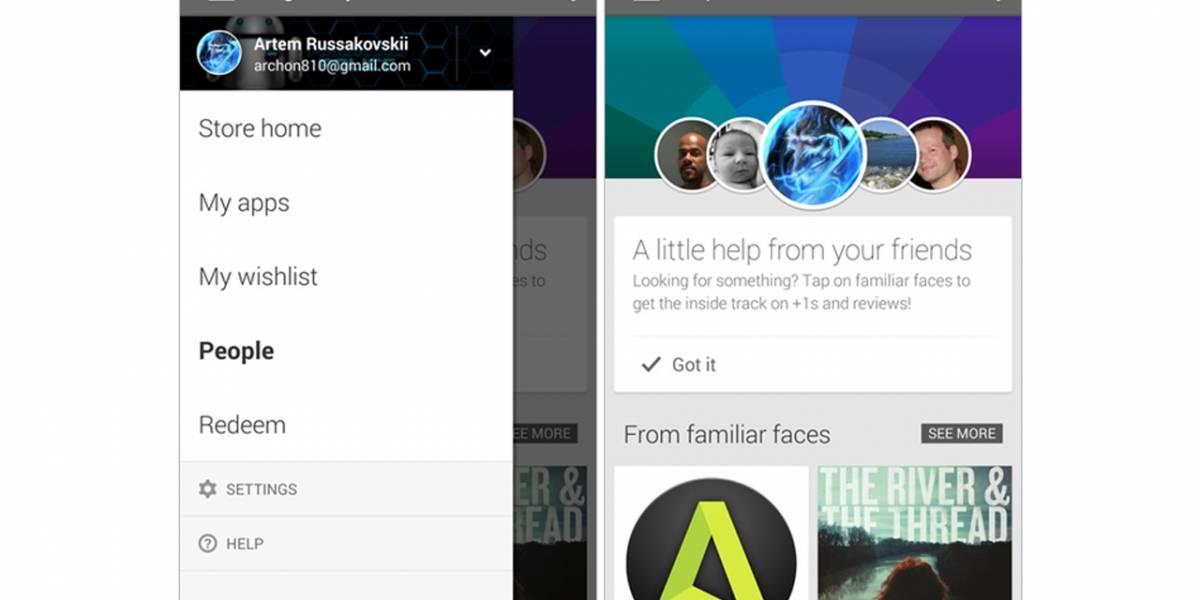 """Google Play estrena nueva sección """"Personas"""""""