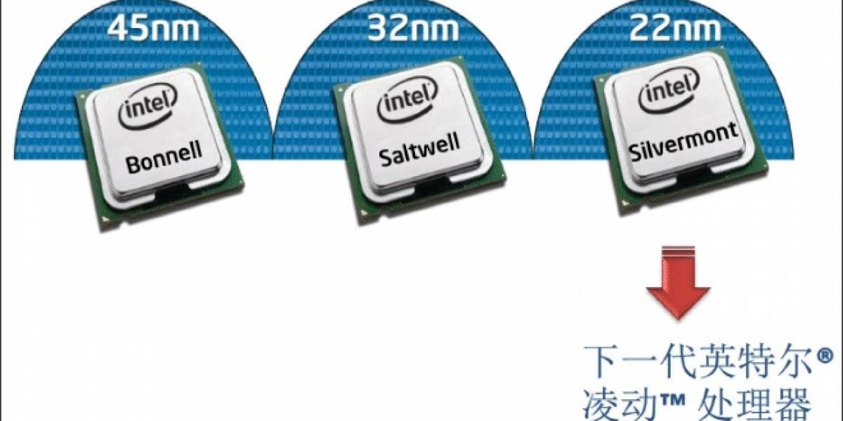 Más detalles de los futuros microprocesadores Intel Atom Valleyview