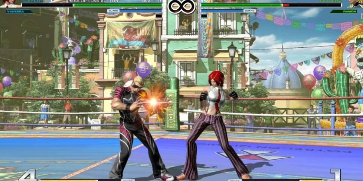 Vean a Vanessa en acción en nuevo video de The King of Fighters XIV