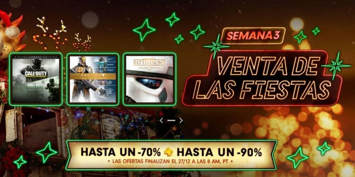 Tercera semana de la Venta Navideña en PlayStation Store