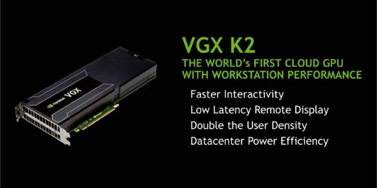 NVIDIA anuncia sus tarjetas VGX K1 y K2 para entornos virtualizados