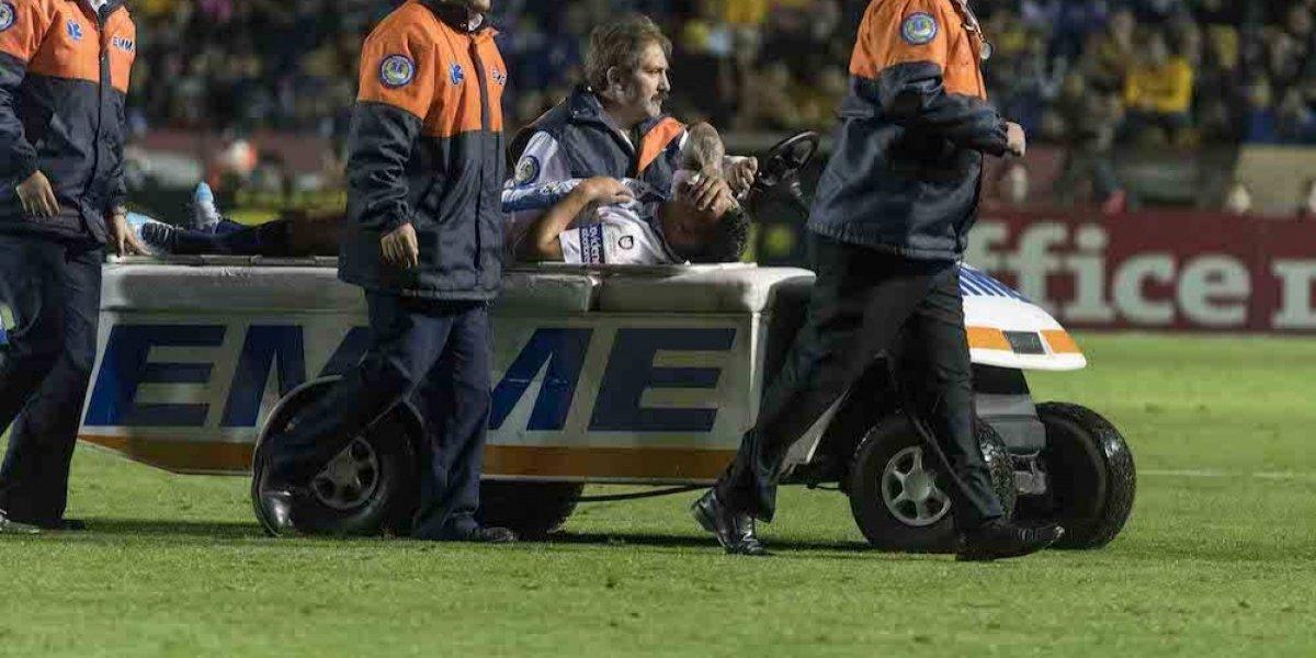 Víctor Guzmán sufrió rotura de ligamento, queda fuera del Clausura 2018 y del Mundial