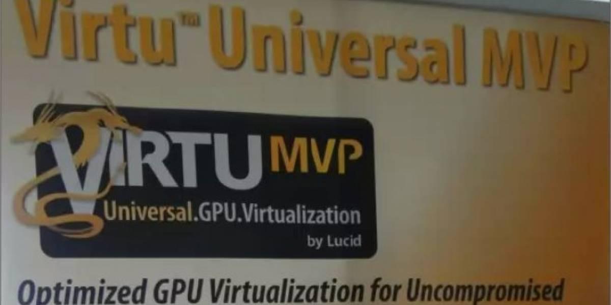 Lucidlogix Virtu MVP incrementará el rendimiento gráfico de Trinity en hasta un 35%