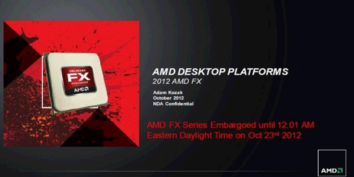 """AMD lanza sus microprocesadores FX de segunda generación """"Vishera"""""""