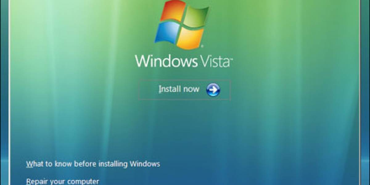 ¡Oh, es Windows Vista SP1!