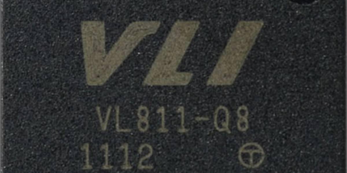 VIA VL811: Controlador USB3 con tecnología USB2Expressway