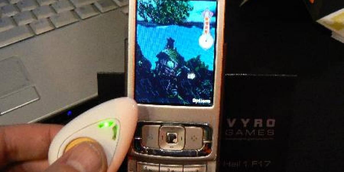 MWC09: Sensor biométrico Vyro. El que suda menos es el que gana.