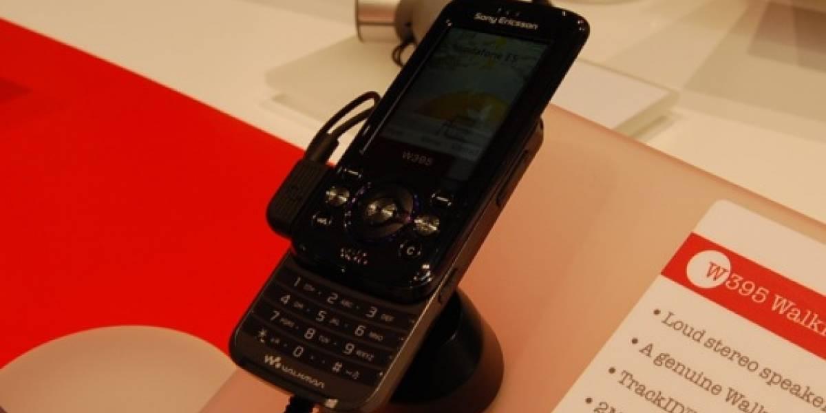 MWC09: W Galería del Sony Ericsson W395