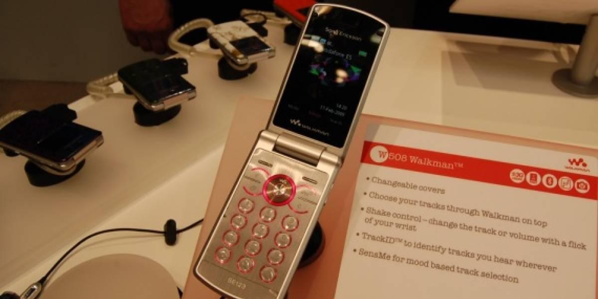 MWC09: W Galería del Sony Ericsson W508 Walkman
