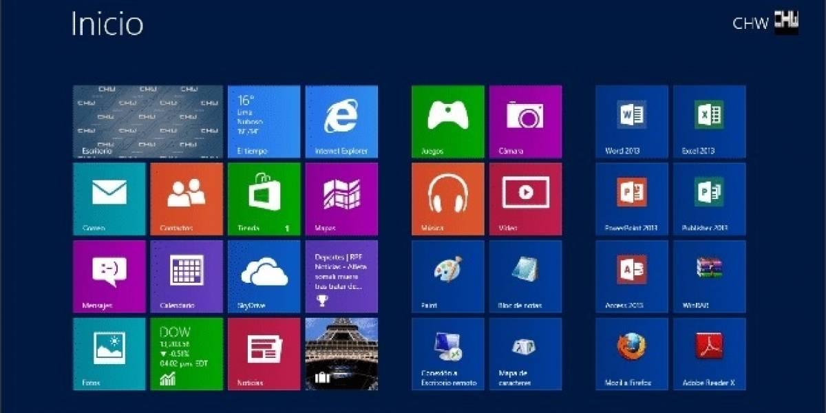 Microsoft: Dentro de poco tiempo nadie podrá vivir sin la pantalla de inicio