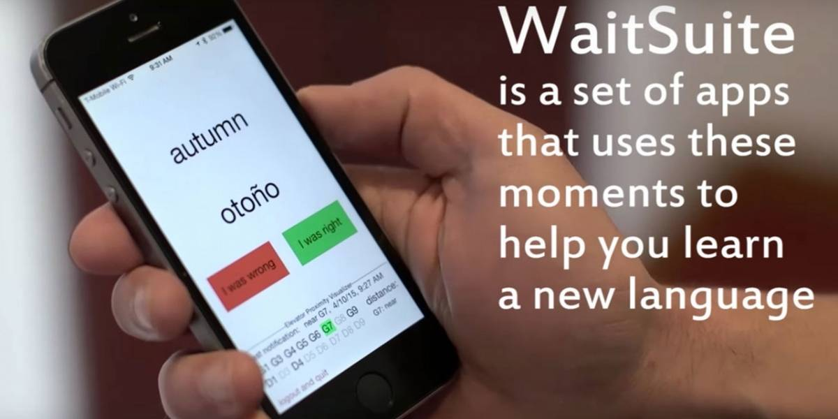 MIT crea WaitSuite, una app de idiomas más eficiente que Duolingo